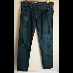 Hurley Jeans '79 Skinny Men's Size 33 x 32 Dark